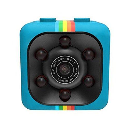 Jcotton SQ11 HD 1080P Mini coche DV Cámara Deportes DV Luz infrarroja Oculto Spy Dash Cam IR Con Vision nocturna Y Detección de movimiento Portátil Niñera Web Spy Cámara de vigilancia
