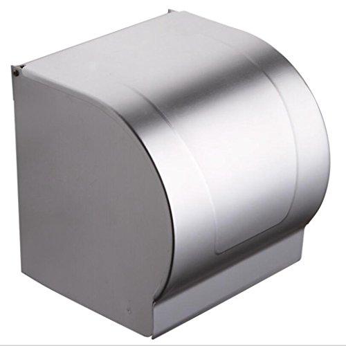 Preisvergleich Produktbild Lozse Toilettenpapierrollenhalter,Klopapierrollenhalter, ideal für Küche und Bad 122mm