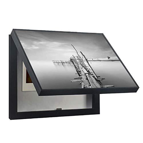 LITING Simple y Moderno medidor de Tapa magnética Caja de Etiquetas Adhesivas...