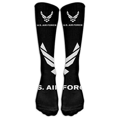 woiebntb3b3 U.S. Air Force Sport Unisex Stockings Men's&women's Sport Long Sock One Size WhiteOne Size 19.68 inch - Air Force Womens Basketball