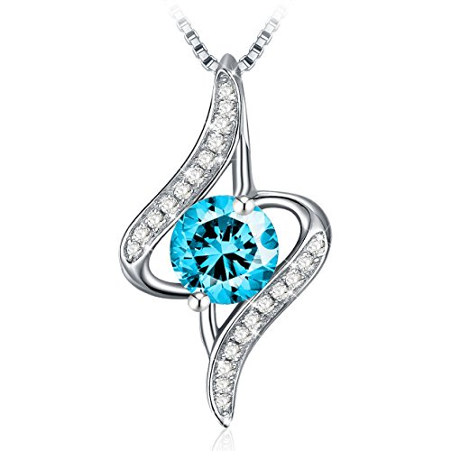 Silver Pendant Necklace for Wome...