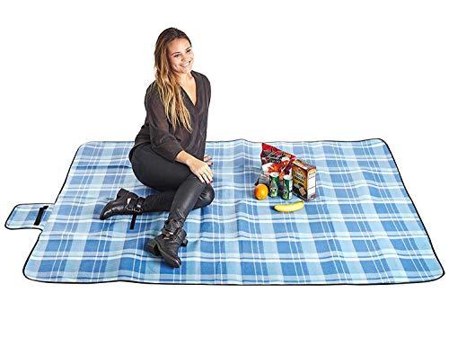 China Chang Outdoor-Picknick Matte Strand Kissen Camping Decke Anti-Gezeiten Matte Zelt Matte Kriechen Decke 150 * 120/Impression à Carreaux