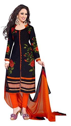 Queen of India Women'S Cotton Suit Piece Salwar Suit Set