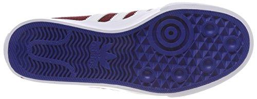 adidas Unisex-Erwachsene Adiease Gymnastikschuhe Mehrfarbig (Collegiate Burgundy/ftwr White/collegiate Royal)
