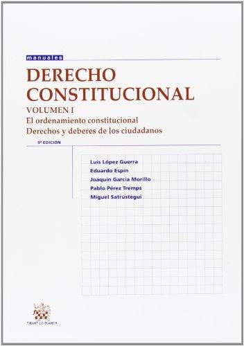 Derecho constitucional Vol. I 9ª Ed. 2013