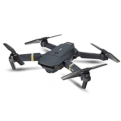 Eachine E58 WIFI FPV With Wide Angle HD Camera High Hold Mode Foldable Arm RC Quadcopter RTF Drone + 1 Cable & 3 Batteries