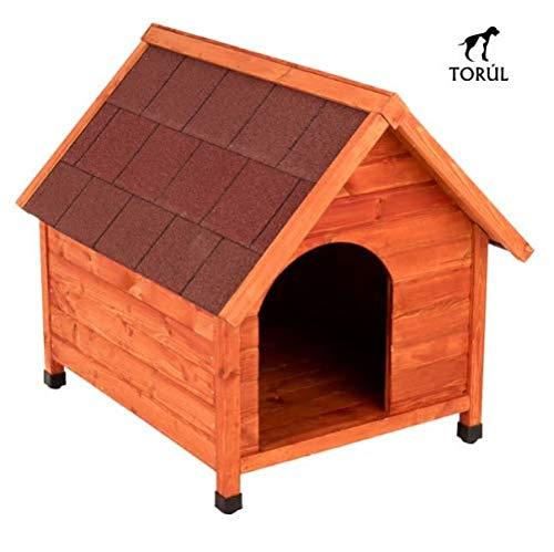 Spike Premium Torúl Caseta de Madera Classic para Mascotas Perros (XL)