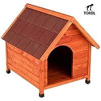 Spike Premium Torúl Caseta de Madera Classic para Mascotas Perros ...
