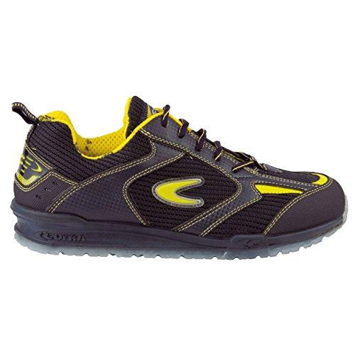 HOLMAN Para Hombre Seguridad de ACERO Ligero de Trabajo y Encaje Zapatos Trainer, Color, Talla 43