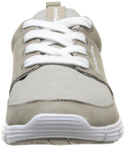 Calvin Klein Jeans Marlon Shiny Buffalo Nylon, Scarpe da Tennis Uomo Beige (Beige - Beige)