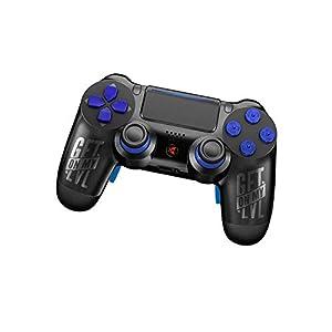 King Controller PS4 Controller mit Curved Paddles und Custom Design GetOnMyLVL – MontanaBlack (mehrfarbig) – DualShock 4 – PlayStation 4 Pro Slim – Wireless PS4-Controller