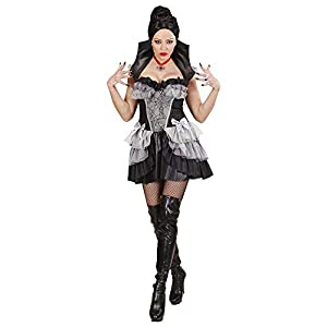 WIDMANN wdm76362?Disfraz para adultos Vampiresa gotica, multicolor, M