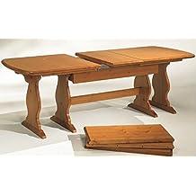 Amazon.it: tavolo legno grezzo allungabile