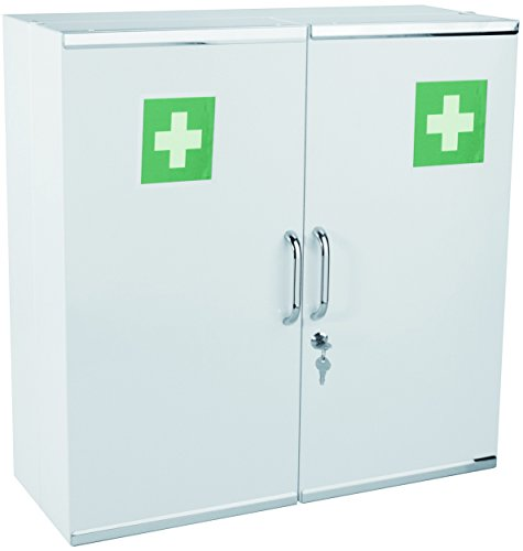 hexotol-armoire-a-pharmacie-avec-2-portes-acier-blanc-52-x-20-x-54-cm