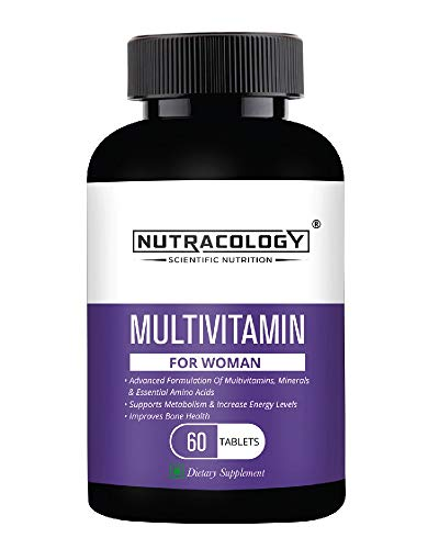 Nutracology Multivitamin for women with Vitamin, minerals and Antioxidants 60 Tablets