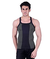 Zimfit Mens Vest (BS_ZMV_113_Green_32_Multi-Coloured_Small)