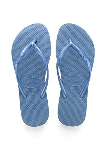 Havaianas Slim, Infradito Donna, ((Blue 0057), 39/40 EU