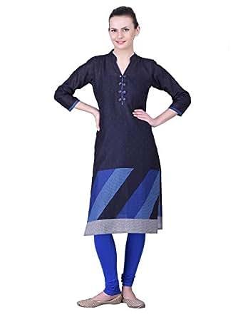 Ashutosh Energy Women's Cotton Long Sleeve Kurti (ASHENR0014_Multicolor_40)