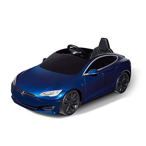 TBFEI L'auto Elettrica A Quattro Ruote For Bambini Autorizzata Tesla Degli Stati Uniti Può Ospitare Un'auto Giocattolo For Bambini, Fari A LED, Multifunzione, Ricarica Rapida, Musica, Batteria Agli Io