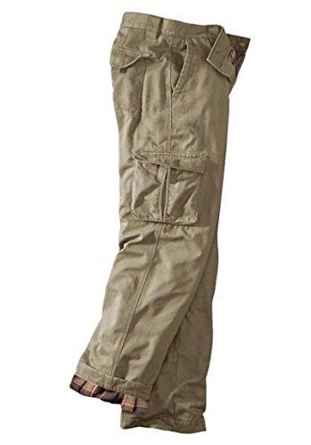 Pantalon Cargo pantalon Homme doublé de Eddie Bauer Sable