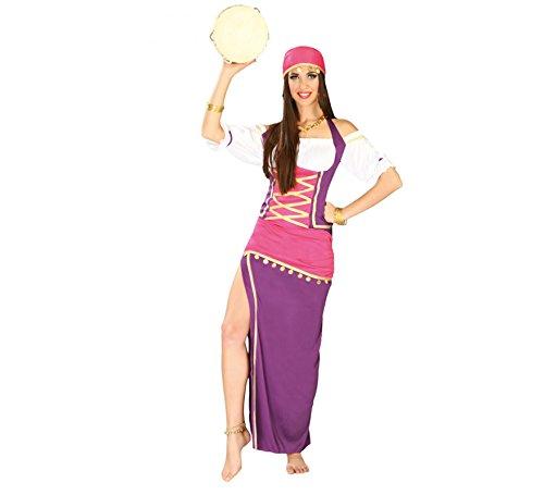 Disfraz de zíngara Esmeralda - Standard