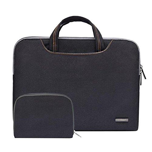 Baymate Laptop Aktentasche Laptoptasche 11.6 -15.6 Zoll Notebooktasche Schutzhülle Hülle Case mit Griff Stil3 13.3 Zoll (33.5*23.5*3cm)