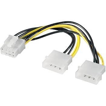 Akasa Ak Cbpw08 40bk Flexa P8 Atx12v 8 Pin Power Extension