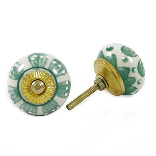 floral-print-drawer-pull-uniques-boutons-cabinet-en-ceramique-cabinet-boutons-bouton-2-pieces