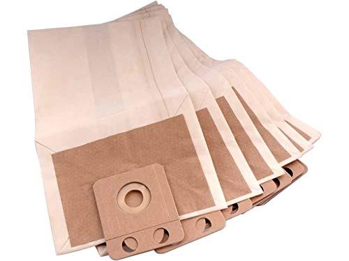 Nilfisk 107413077, Saugerzubehör Staubbeutel VP600 Papier 10 Stück, weiß -