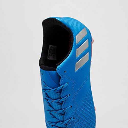 adidas Messi 16.3 Fg J, Chaussures de Foot Garçon Bleu