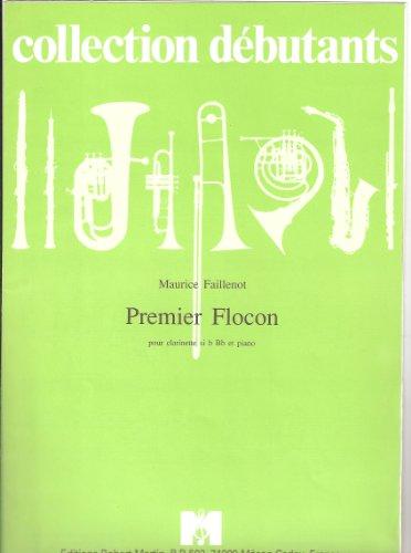 Premier flocon pour clarinette si bémol Bb et piano (collection débutants)