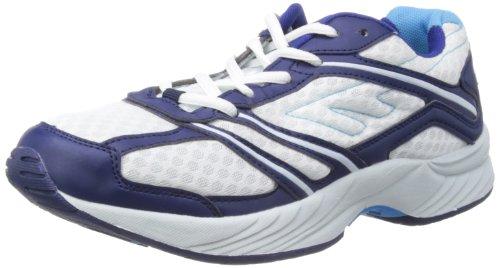 Hi-Tec  Outrunner M, Chaussures de sports en salle homme Blanc - White/Navy/Blue