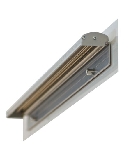 Franken FDKMAG Flipchart Blockhalter magnetisch, 5.5 x 70 cm, - Tür-halter Magnetisch