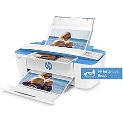 HP DeskJet 3720 AiO - Impresora multifunción (Wi-Fi, USB 2.0, incluido 3 meses HP Instant Ink, 600 x 600 DPI, A4, ADF 216 x 355 mm), color azul