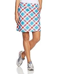 Royal & Awesome Plaid a Blinder - Falda-pantalón de golf para mujer, multicolor, talla 46