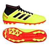 adidas Unisex-Kinder Predator 18.3 AG Fußballschuhe, Gelb (Amasol/Negbás/Rojsol 000), 31 EU