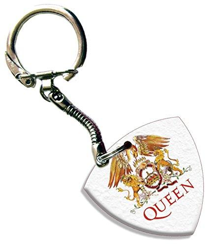 Queen Llavero Bass Guitar Púa Para Guitarra Both