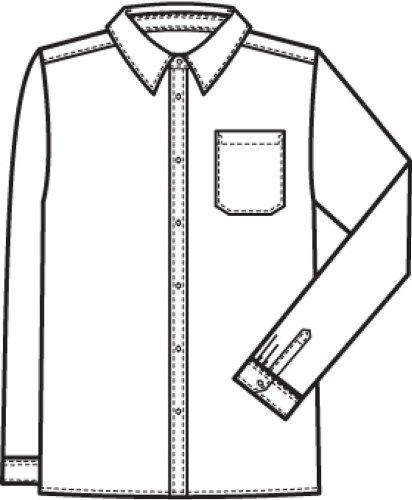 Uomo-camicia GREIFF CLASSIC comfort fit - tuta camicia a maniche lunghe - Style 320 Nero