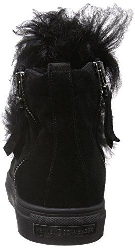Kennel und Schmenger Schuhmanufaktur Damen Basket High-Top Schwarz (schwarz Sohle schwarz 540)