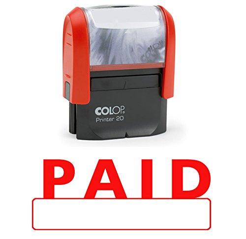 PAID Selbstfärber Stempel Red Ink-Anwendungen im Büro Auf Stempel Colop Stamper