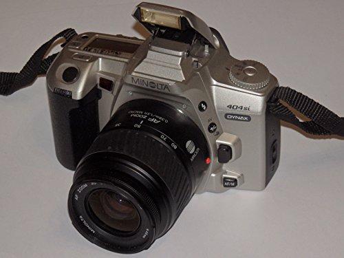 Galleria fotografica SLR macchina fotografica–Fotocamera reflex–Minolta Dynax 404si–Include obiettivo MINOLTA AF Zoom 35–80mm 1: 4(22)-5.6Ø 49mm # # Ingegneria Approvato–Funziona–Ok–by lll # # #