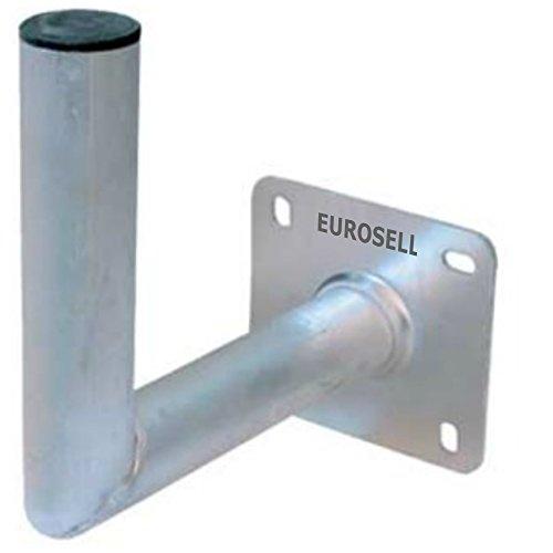 SAT Aluminium Profi Antennen / TV Schüssel Satellitenschüssel Wandhalterung Wandhalter 250 x 250 - 50 mm Halter Halterung Wand