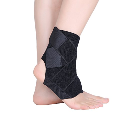 Cudon Breathable Adjustable Neoprene Ankle Brace Support Help to Protect and Recovery from Ankle Injury ¡§C Apply to Running, Tennis, Karate, Judo etc Test