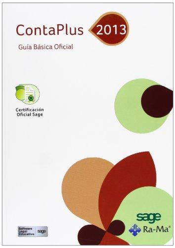 ContaPlus 2013. Guía Básica Oficial por Sage Formación