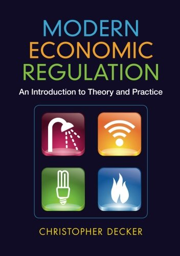 Modern Economic Regulation