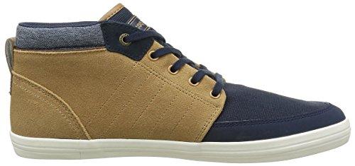 Le Coq Sportif Herren Montferetcraft Hvy Hohe Sneakers Blau (Dress Blue/TanDress Blue/Tan)