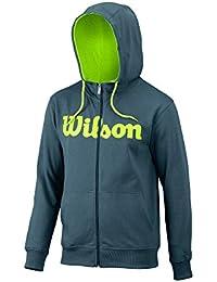 Wilson Script Sweat-Shirt à Capuche Zippée Homme