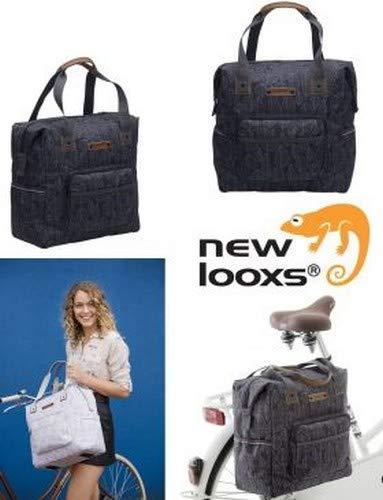 New Looxs Folla Camella, 2017 Einzeltasche, Schwarz, One Size