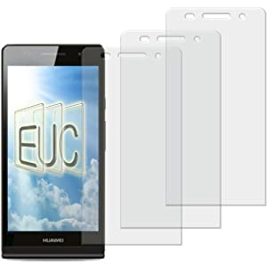 3 x Displayschutzfolie matt/entspiegelnd für Huawei Ascend P7