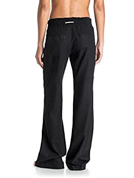 Roxy Women Oceanside Pant, Black (Anthracite), Large 1